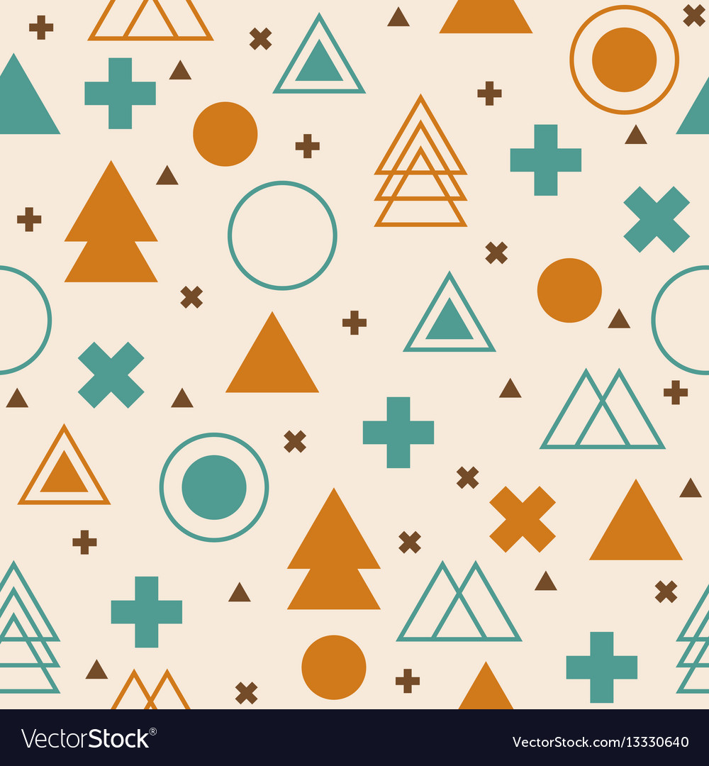 Abstract tribal background colorful geometric