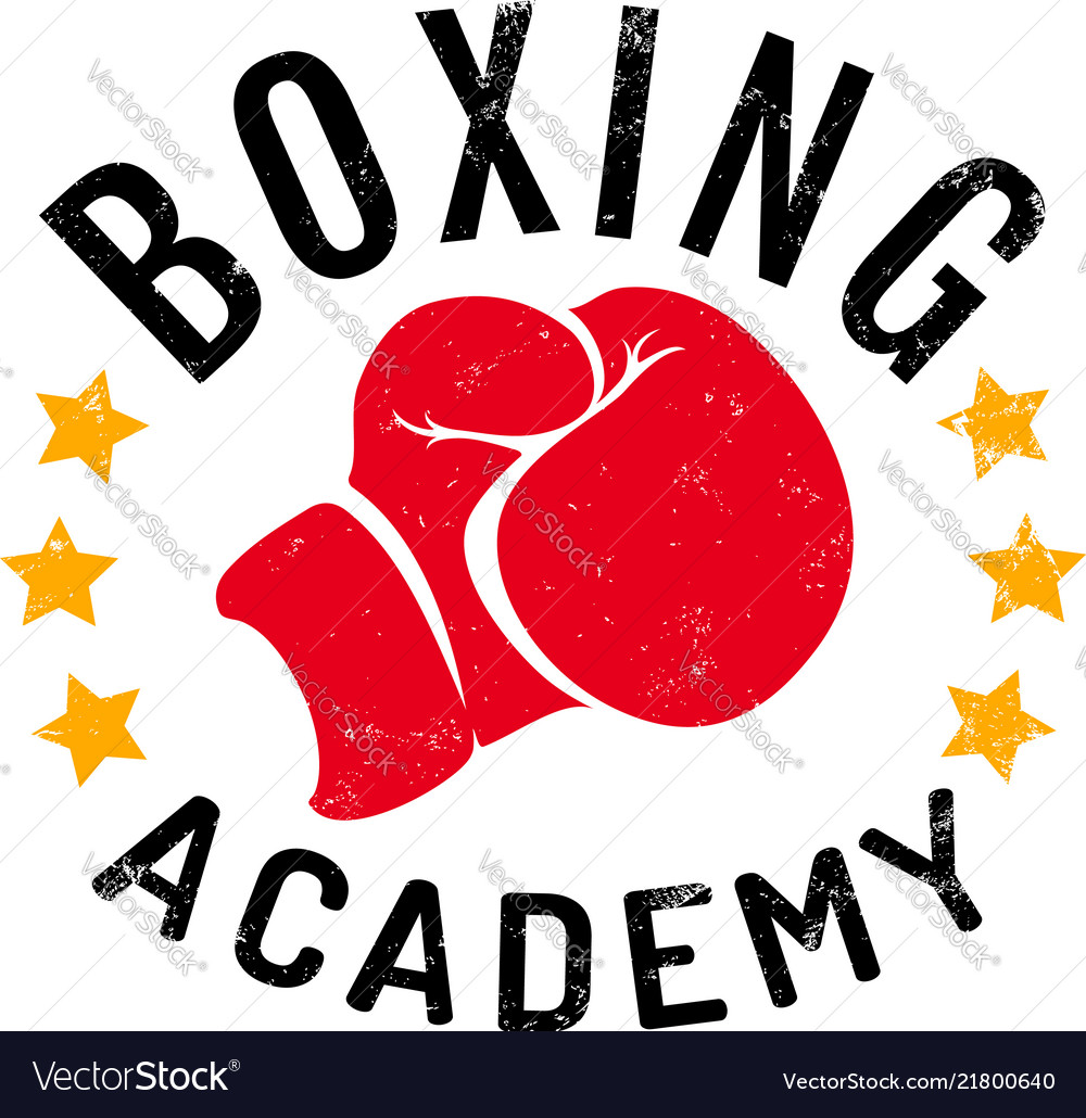 Logo for boxing academy