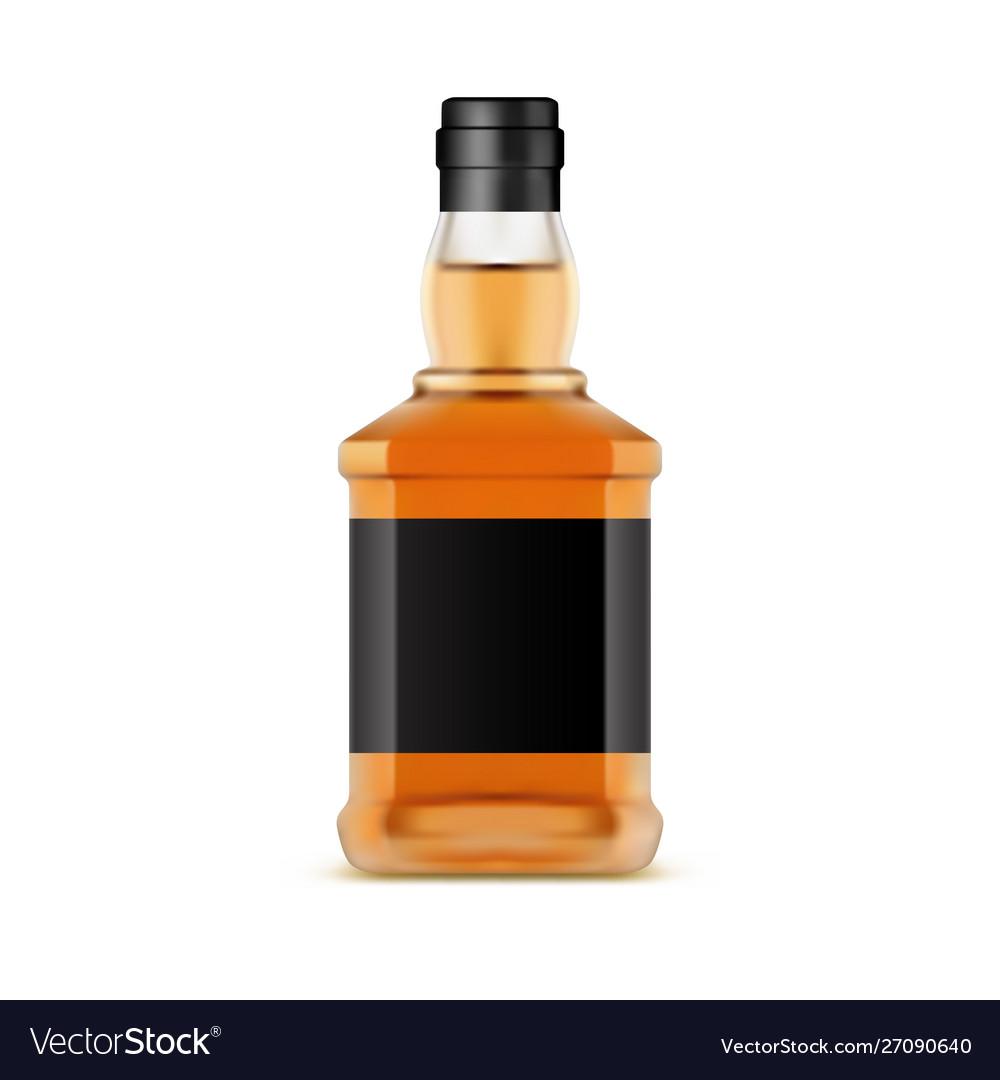 Whisky bottle or glassware jar whiskey scotch