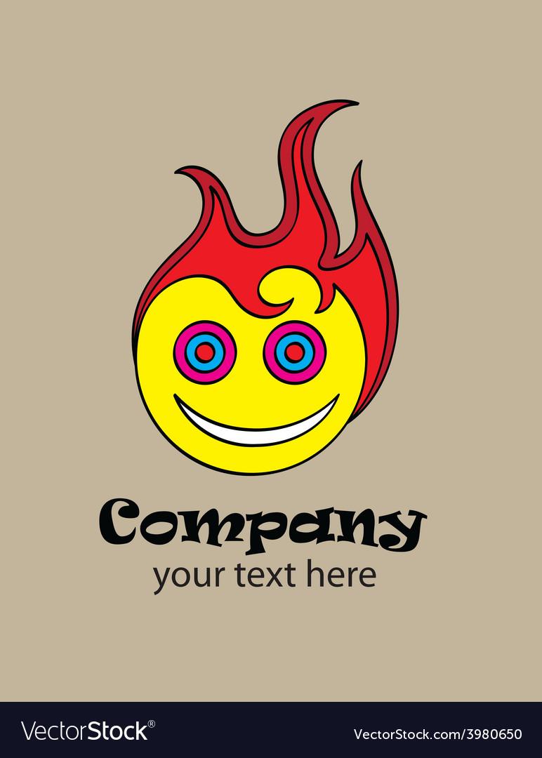 Hot smile logo
