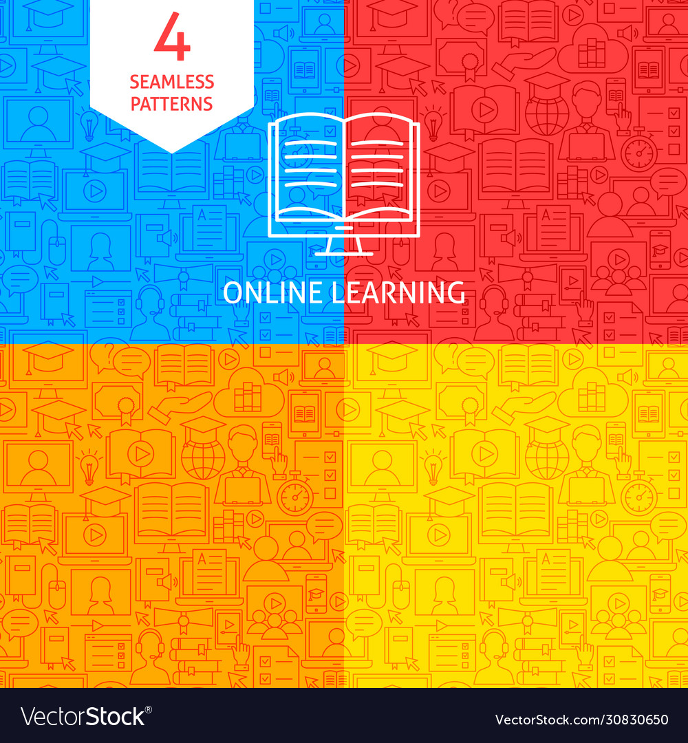 Line online learning patterns