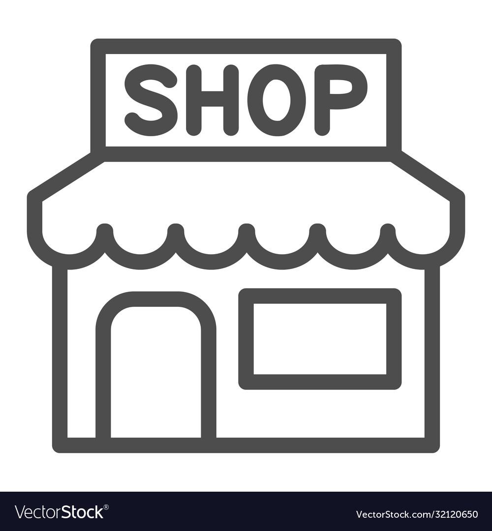 Street Market Kiosk Icon Set Simple Stock Vector (Royalty Free) 1473819191