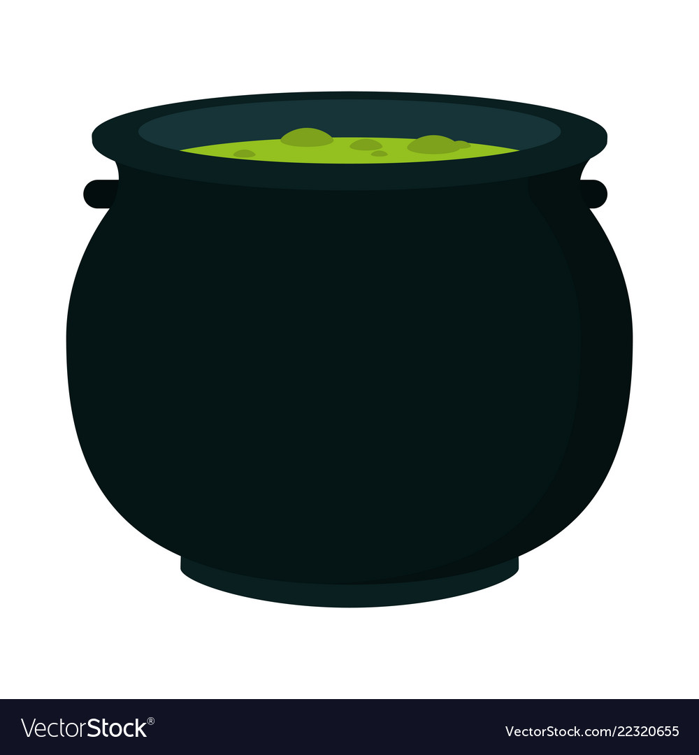 Halloween soup pot