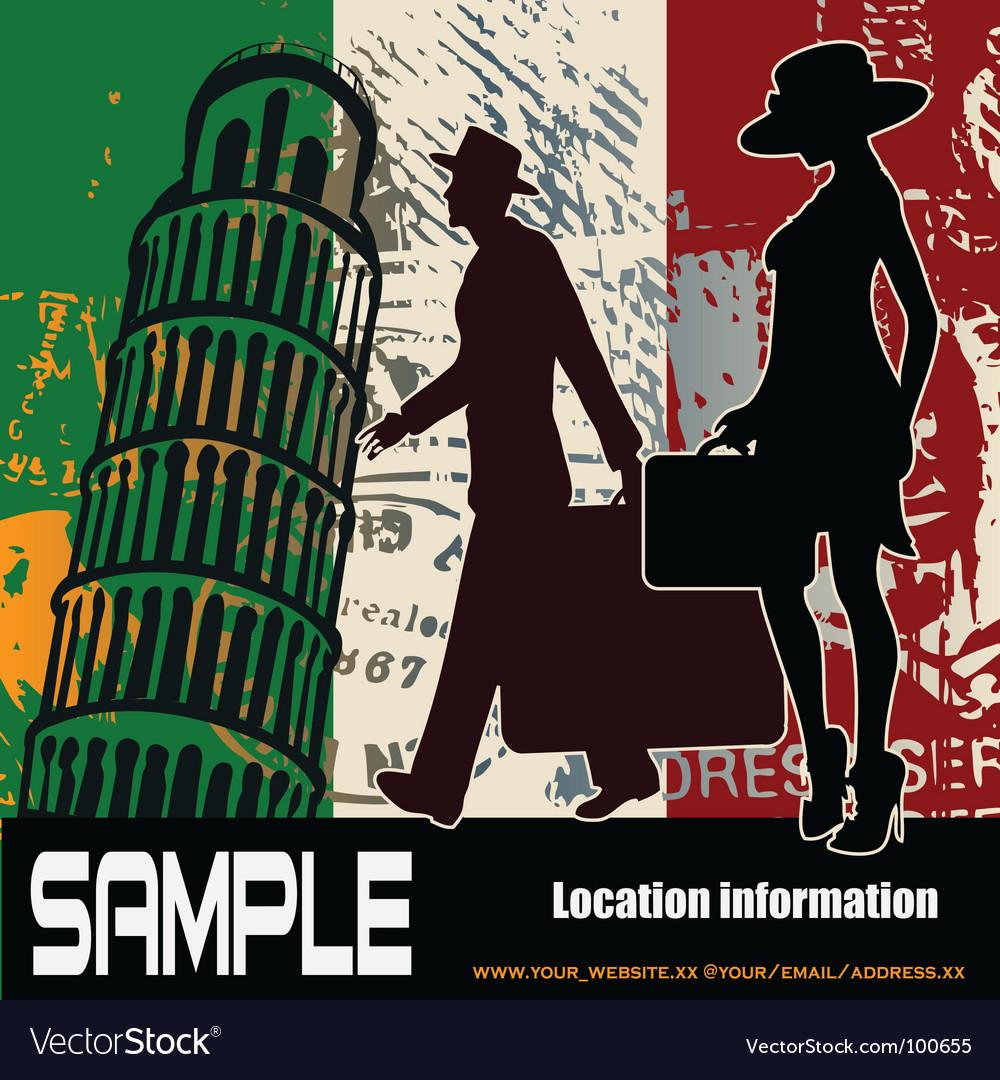 Italian travel background