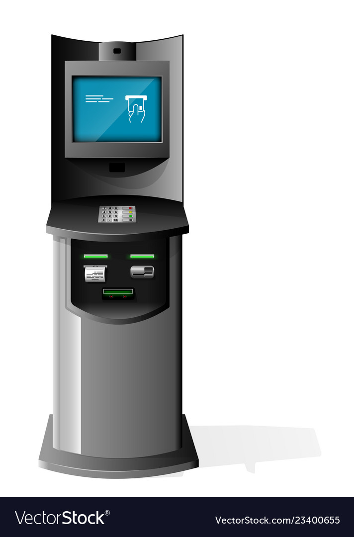 Payment terminal automated teller machine