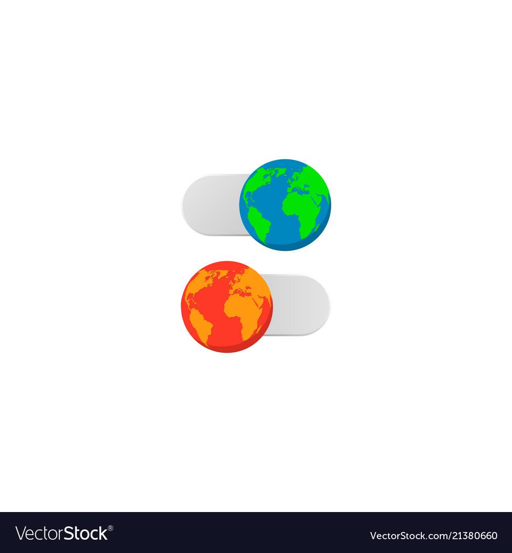 Earth slider turn off on