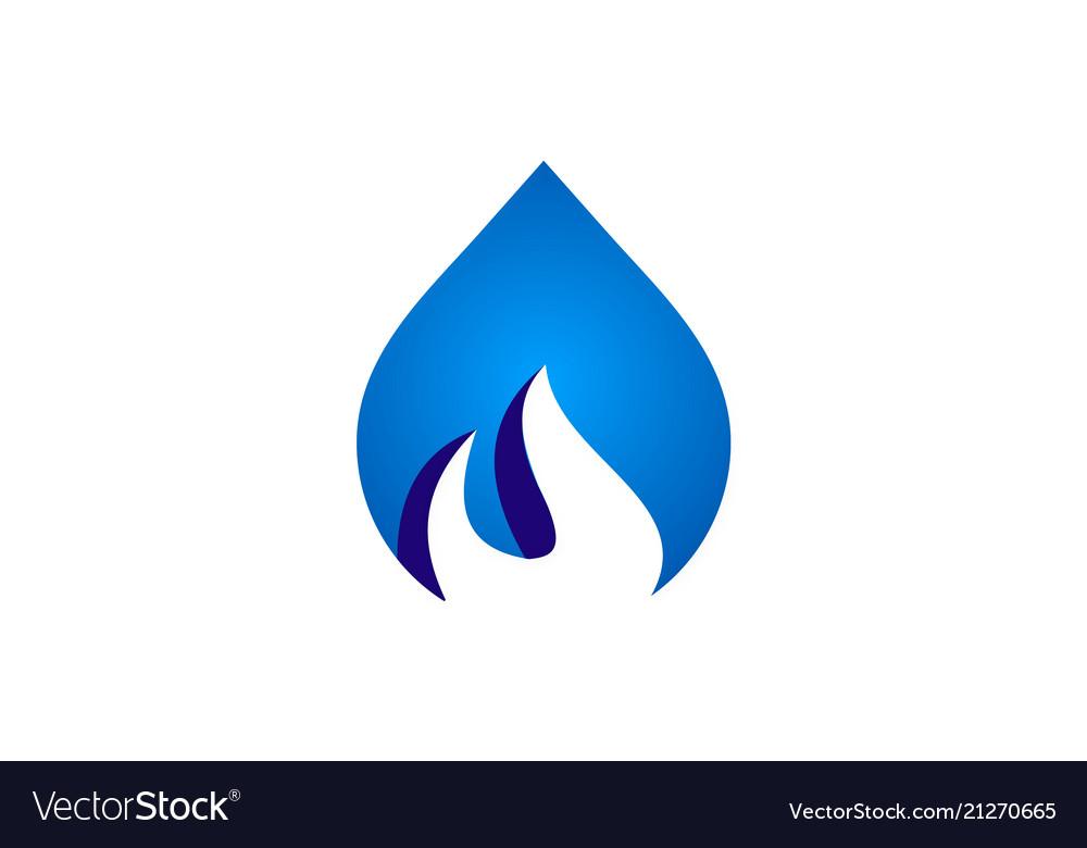Bio water gas logo
