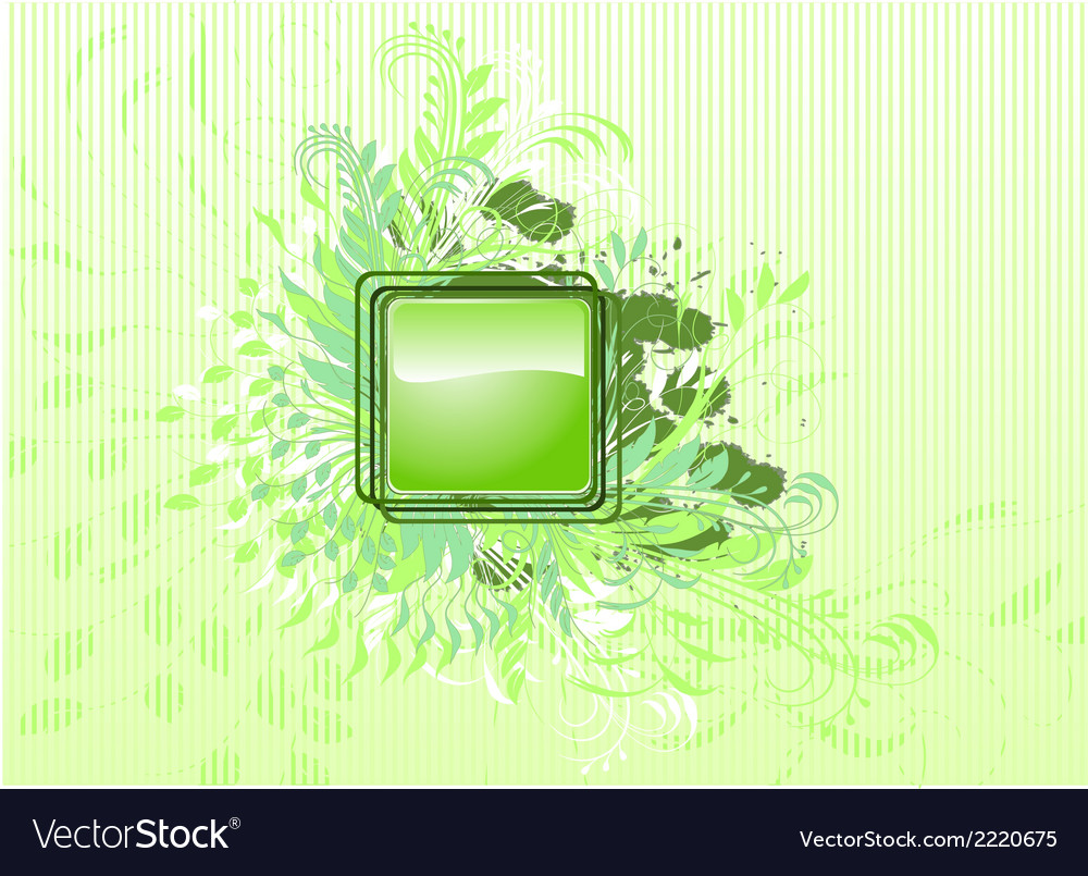 Abstract Background with leafs