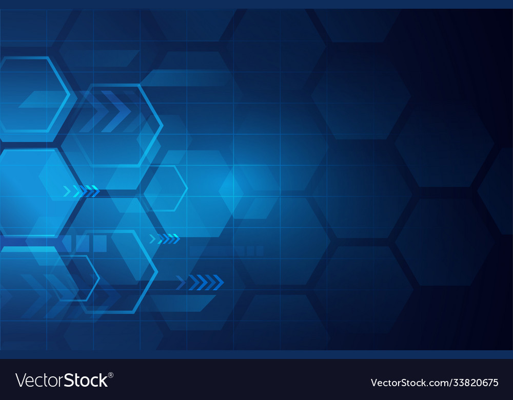 Abstract modern technology background or banner