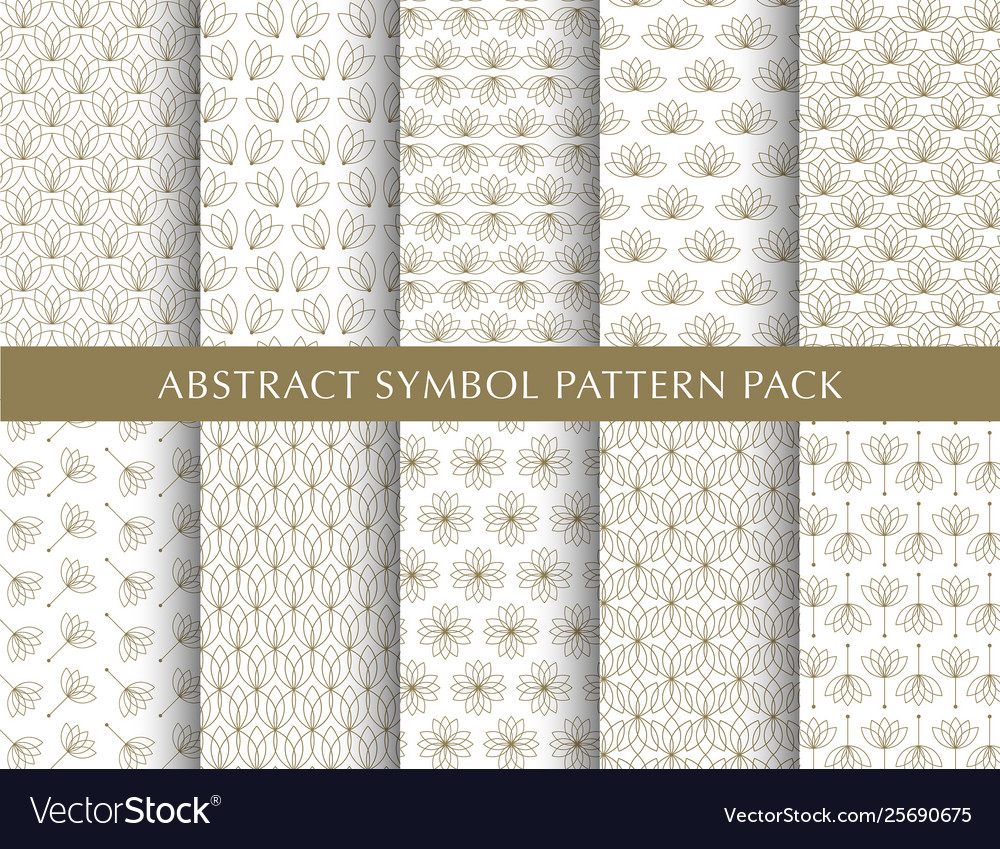 Beautiful abstract pattern pack