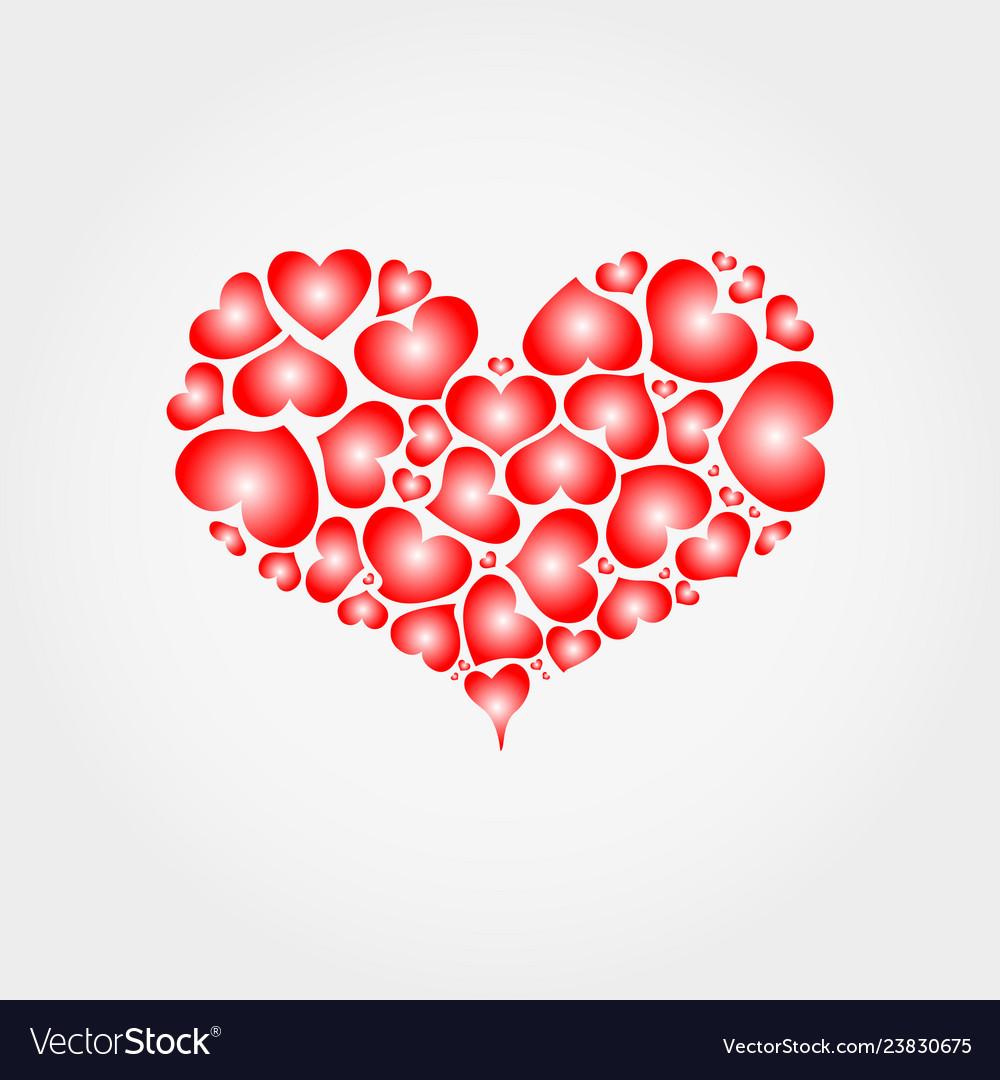 Heart hearts icon