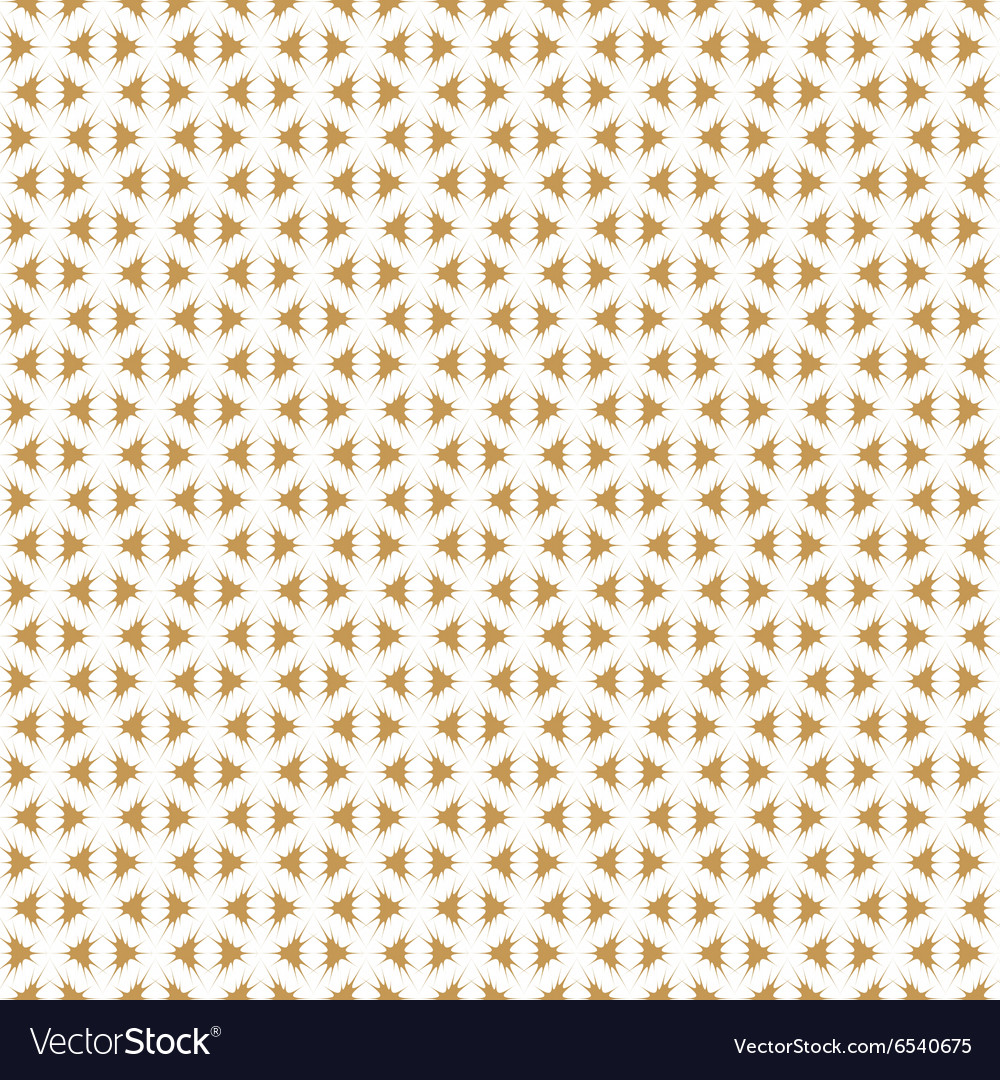 Retro Golden Pattern seamless background