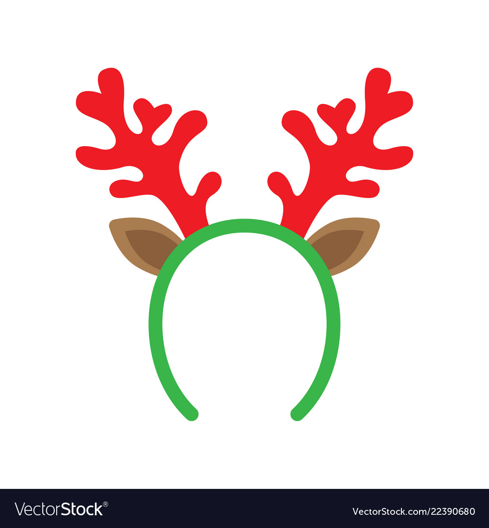 Mask with reindeer antler
