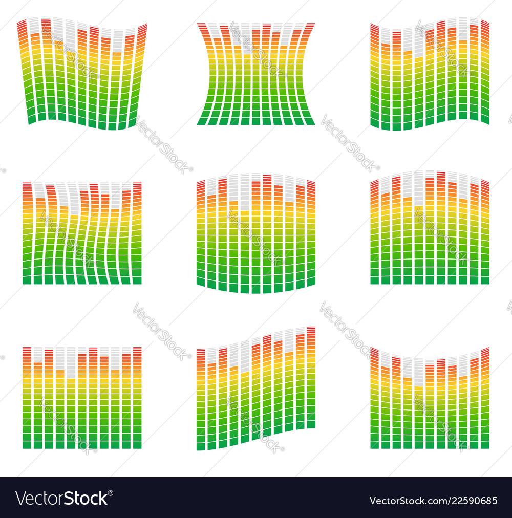 Equalizer Circuit Design Opamp Bridge Amplifier Diagram Tradeoficcom Eq Element For Music Related Vector Image 1000x1012