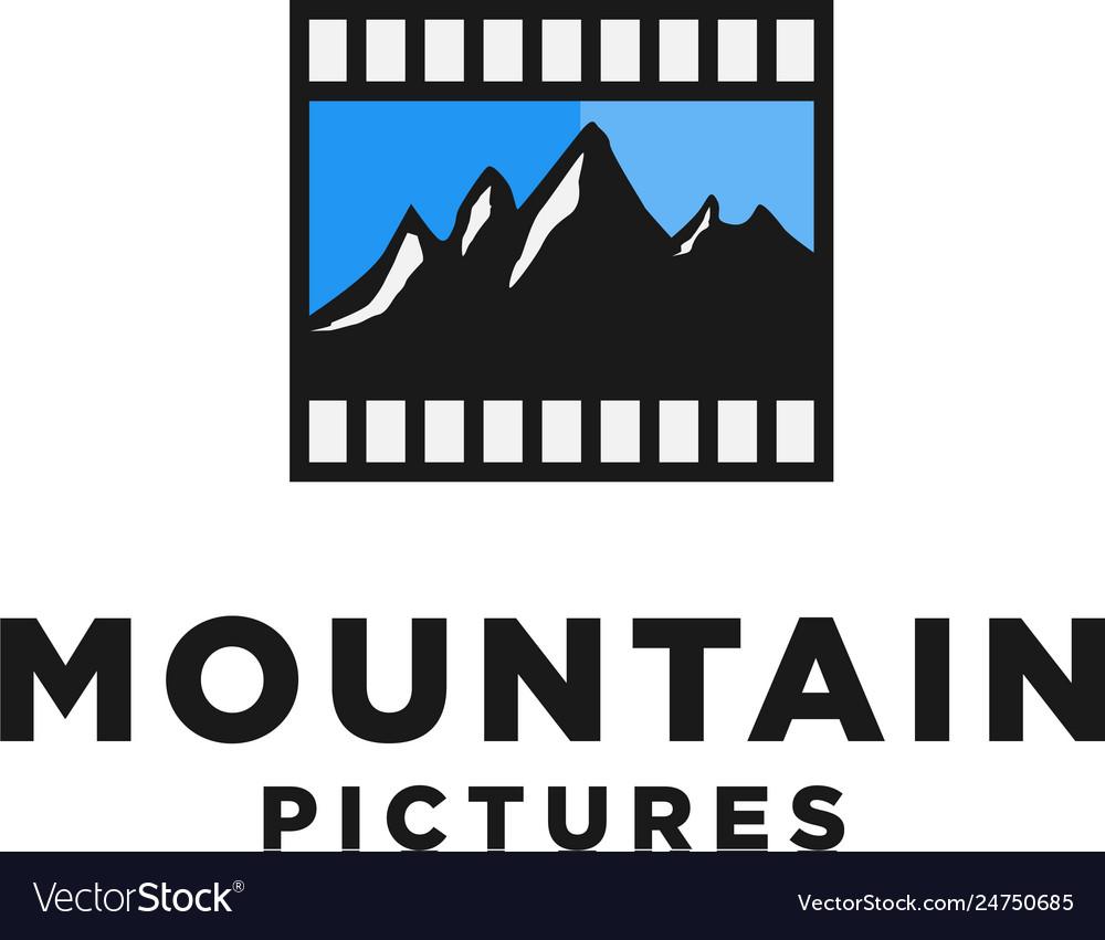 Mountain films logo design inspiration