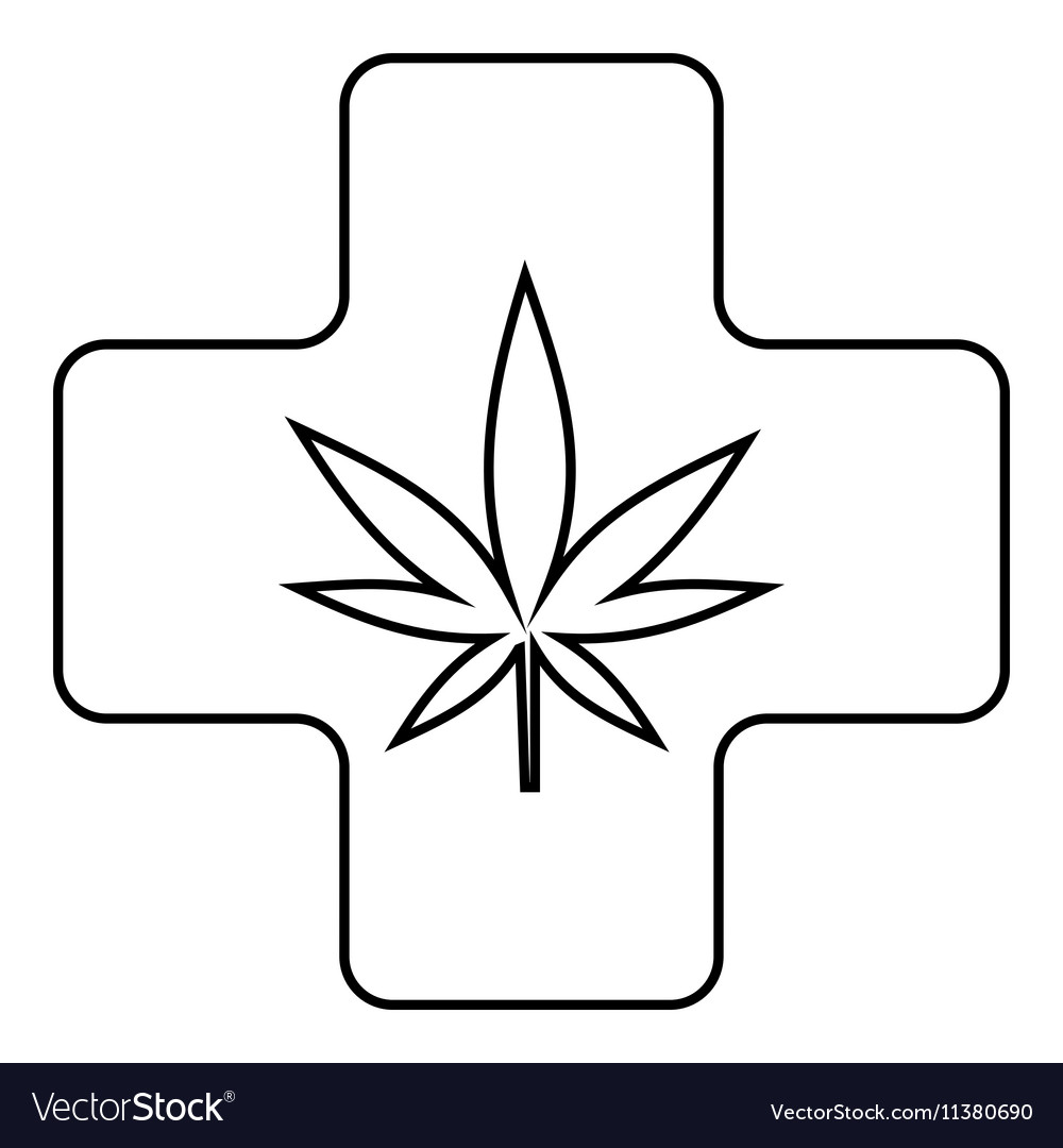 marijuana outline