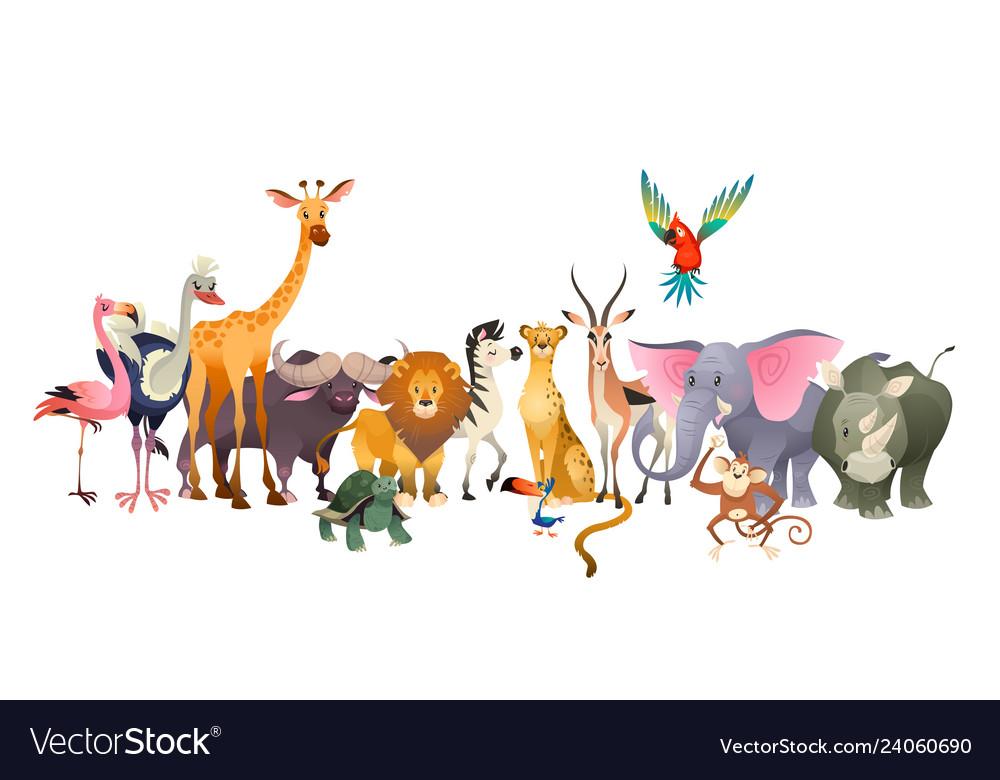 Wild animals safari wildlife africa happy animal