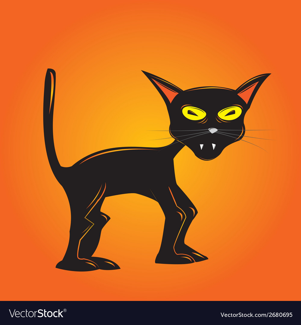 Ugly Cat Vector Images 78