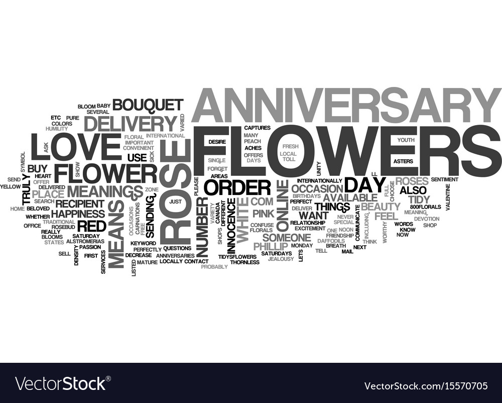 Anniversary favors coffee or tea text word cloud