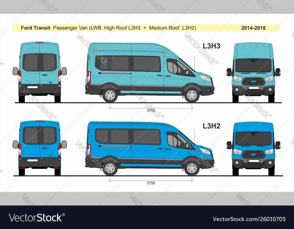 Ford Transit Passenger Van >> Ford Transit Passenger Van L3h2 L3h3 2014 Present