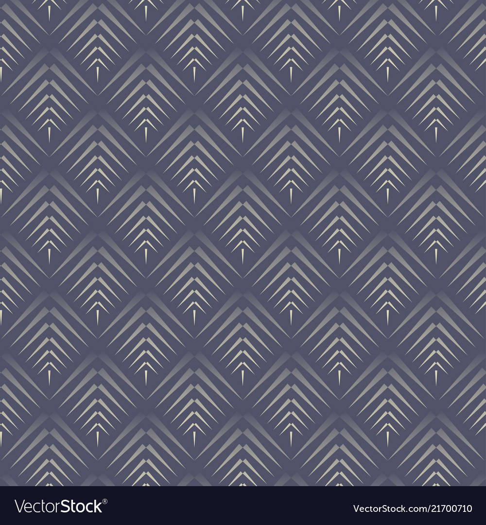 Abstract cone dark blue seamless pattern