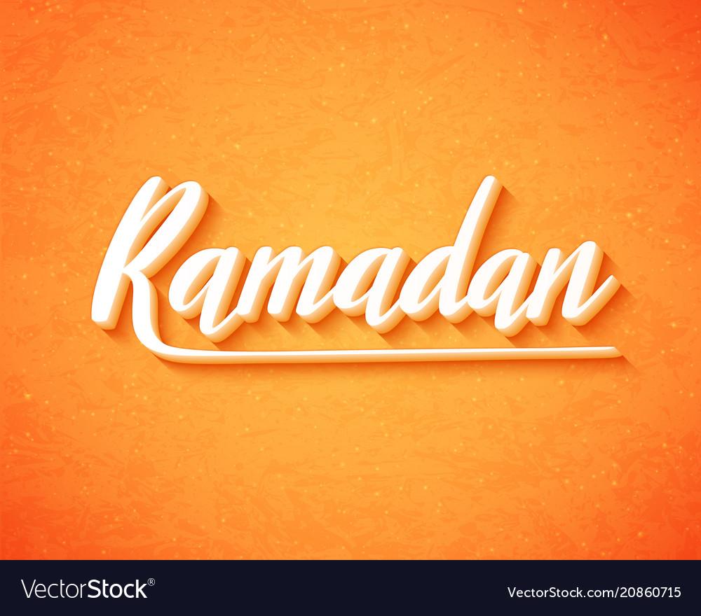 Ramadan kareem for islamic background