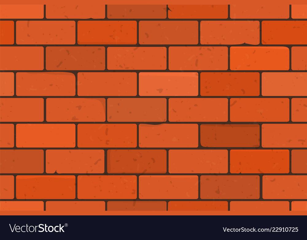 Brick Wall Texture Seamless Pattern Vector Image