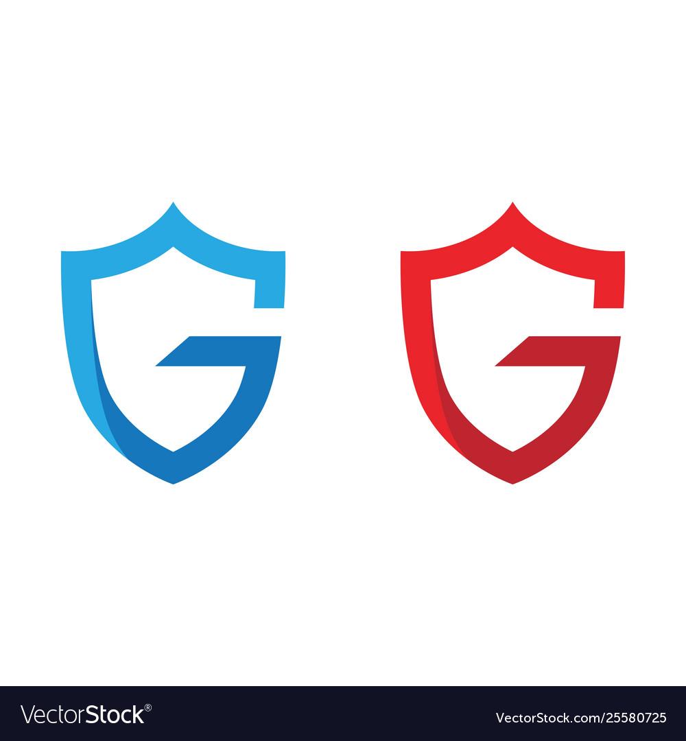 G letter shield