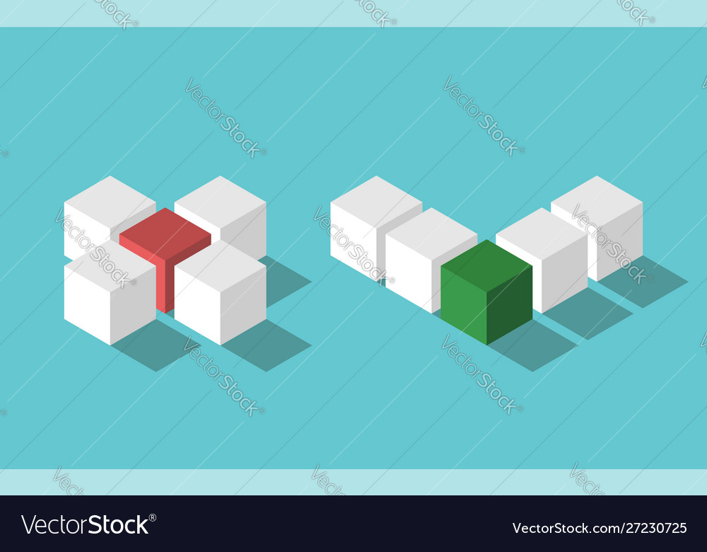 Isometric no and yes