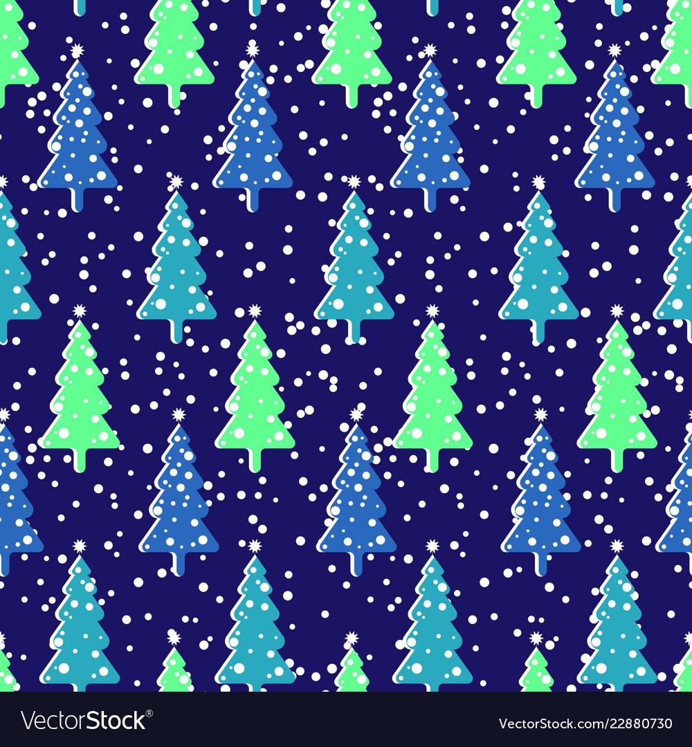 Seamless repeating background imitating snowfall