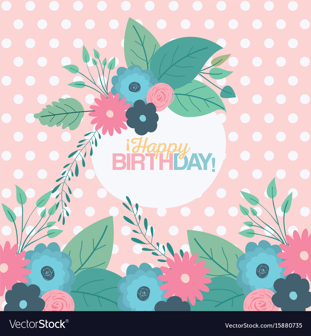 Color pastel background with dots and circular vector image