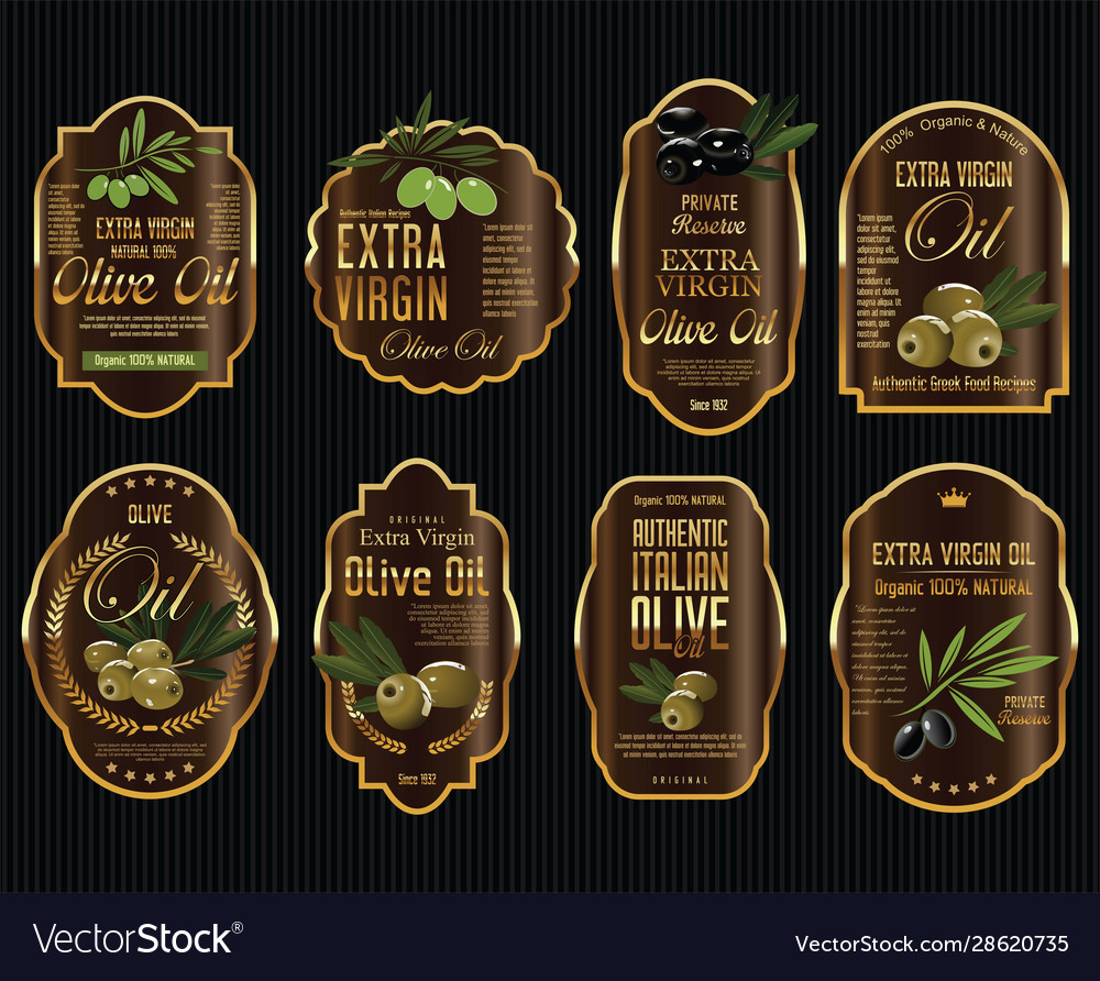 Olive oil retro vintage background collection 5