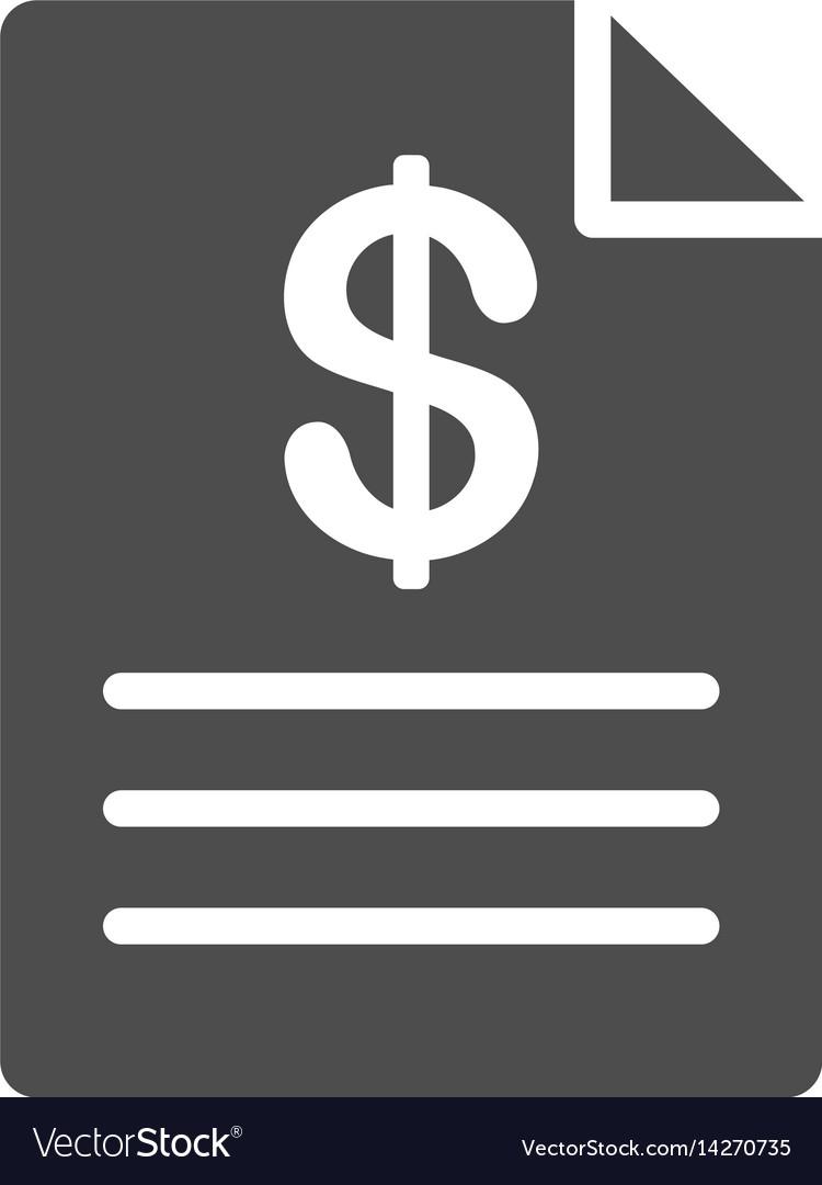 Price list icon vector image
