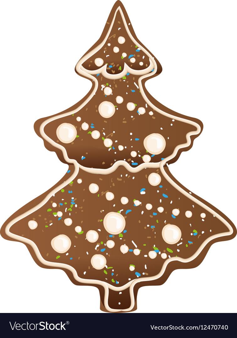 Gingerbread Christmas Tree.Gingerbread Christmas Tree Shape