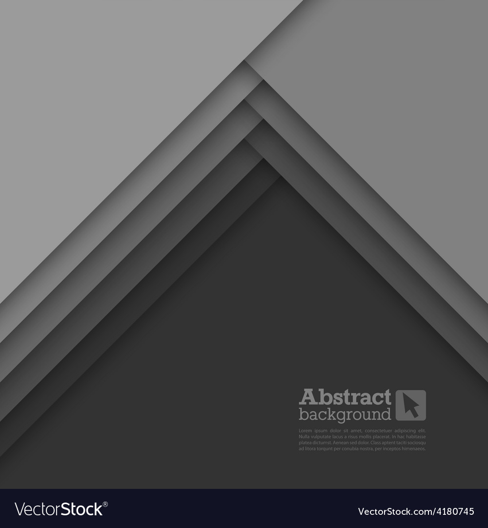 Abstract background with gray layers