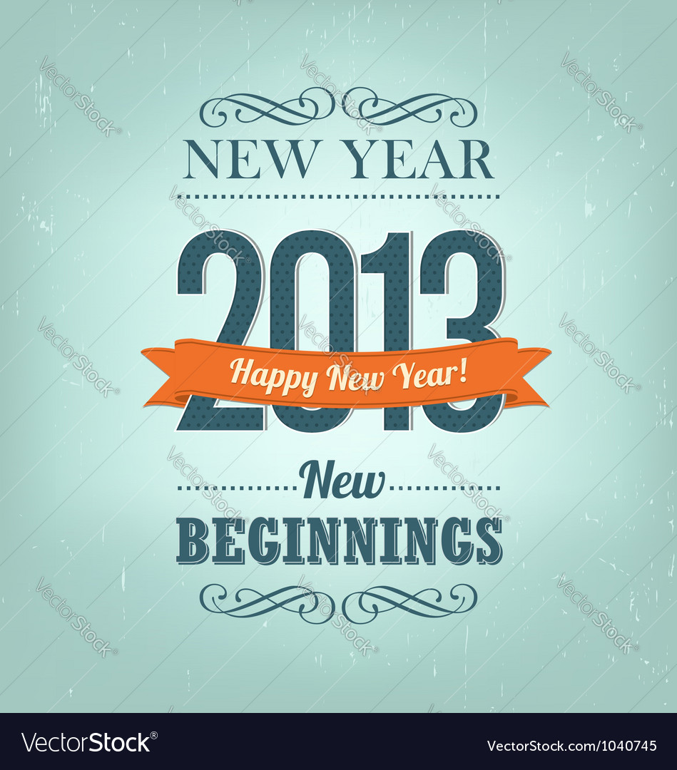 New Year 2013 Design