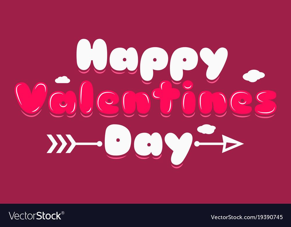 Valentines day banner logo background