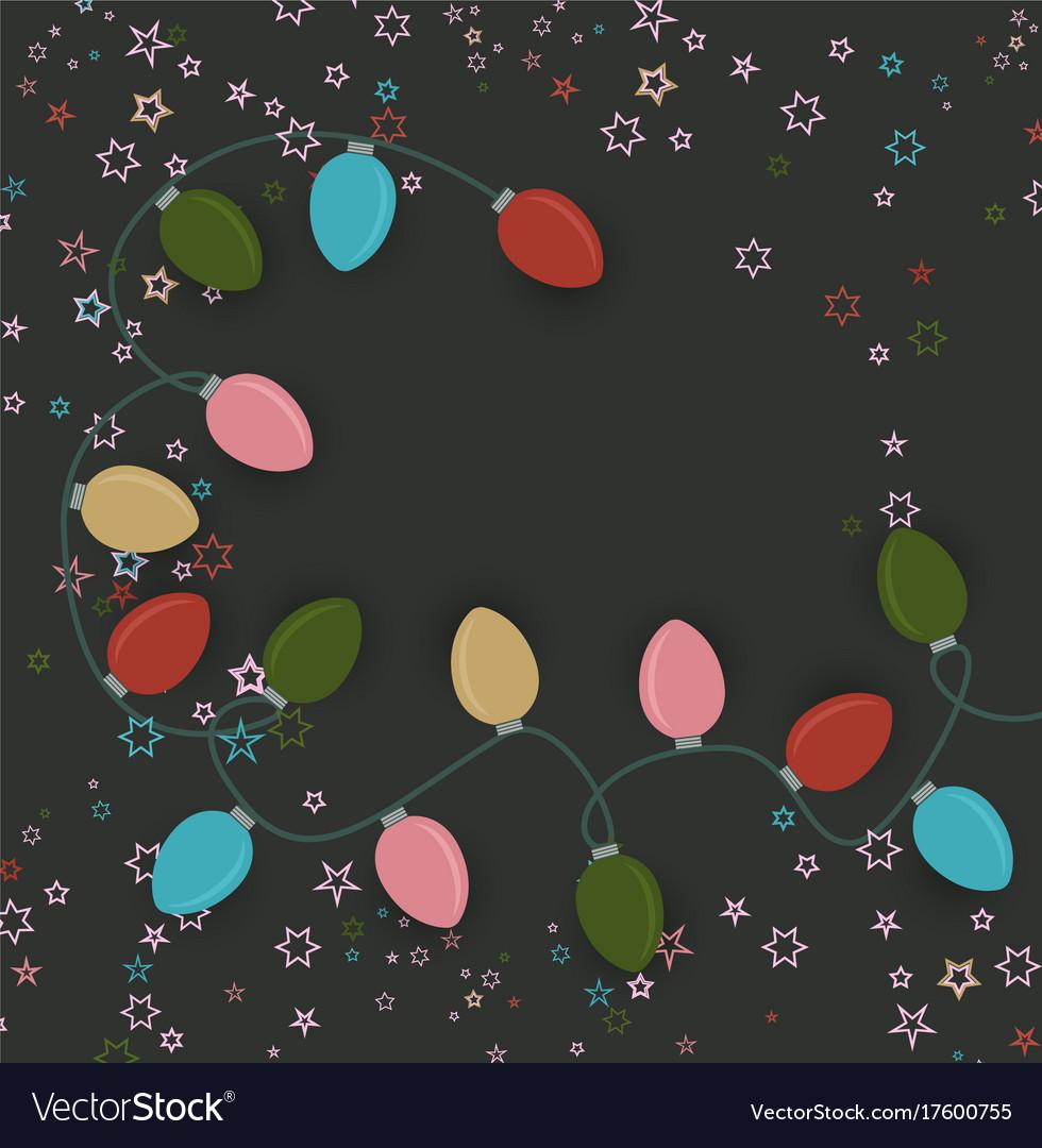 Christmas colorful lights