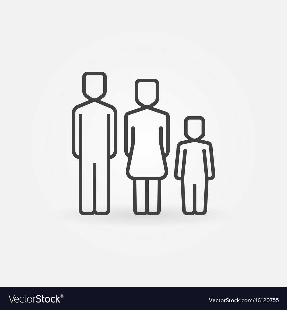Family simple icon