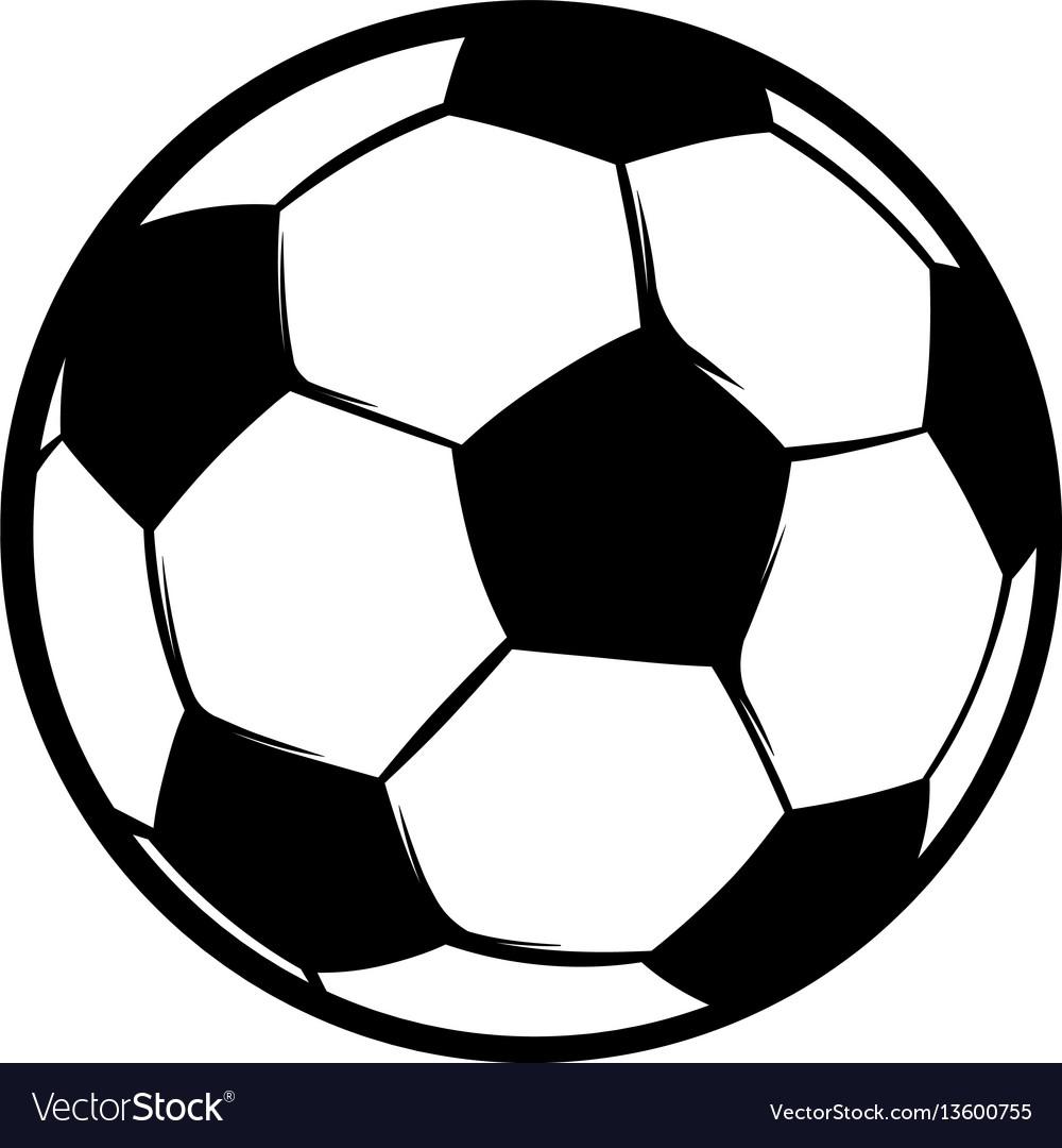 Football ball icon icon cartoon