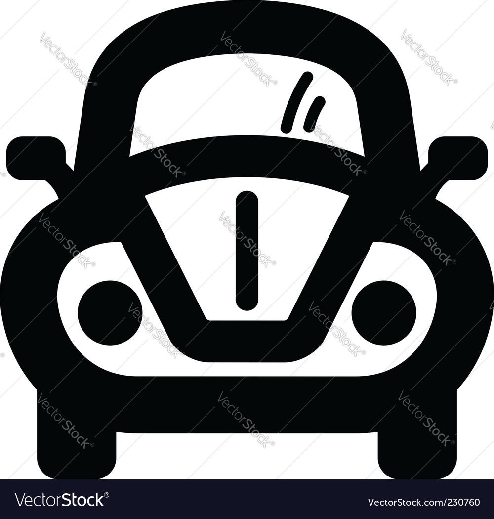 car icon royalty free vector image vectorstock rh vectorstock com car icon vector download car icon vector ai