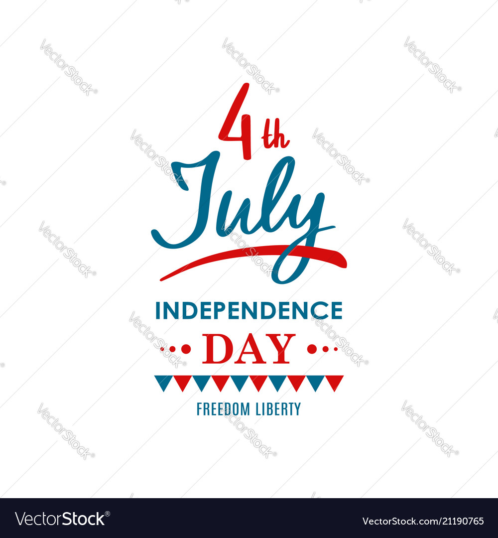 Happy united states independence day 4th of july