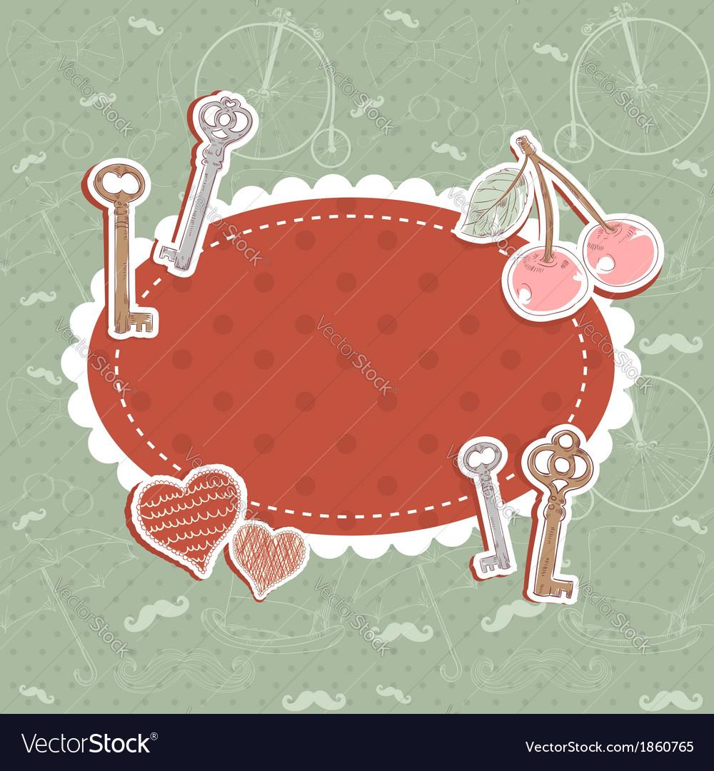 Valentine romantic love card