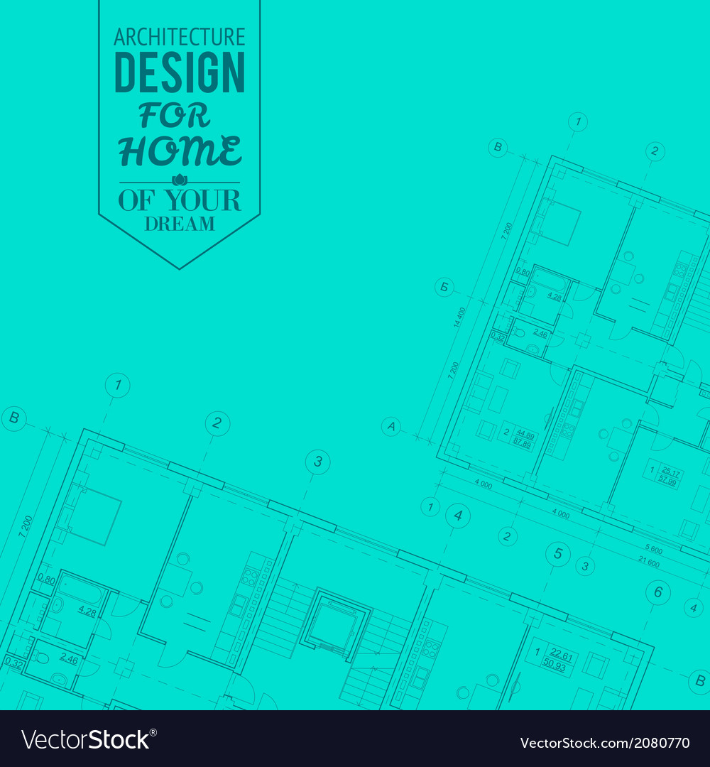 Blueprint of house project