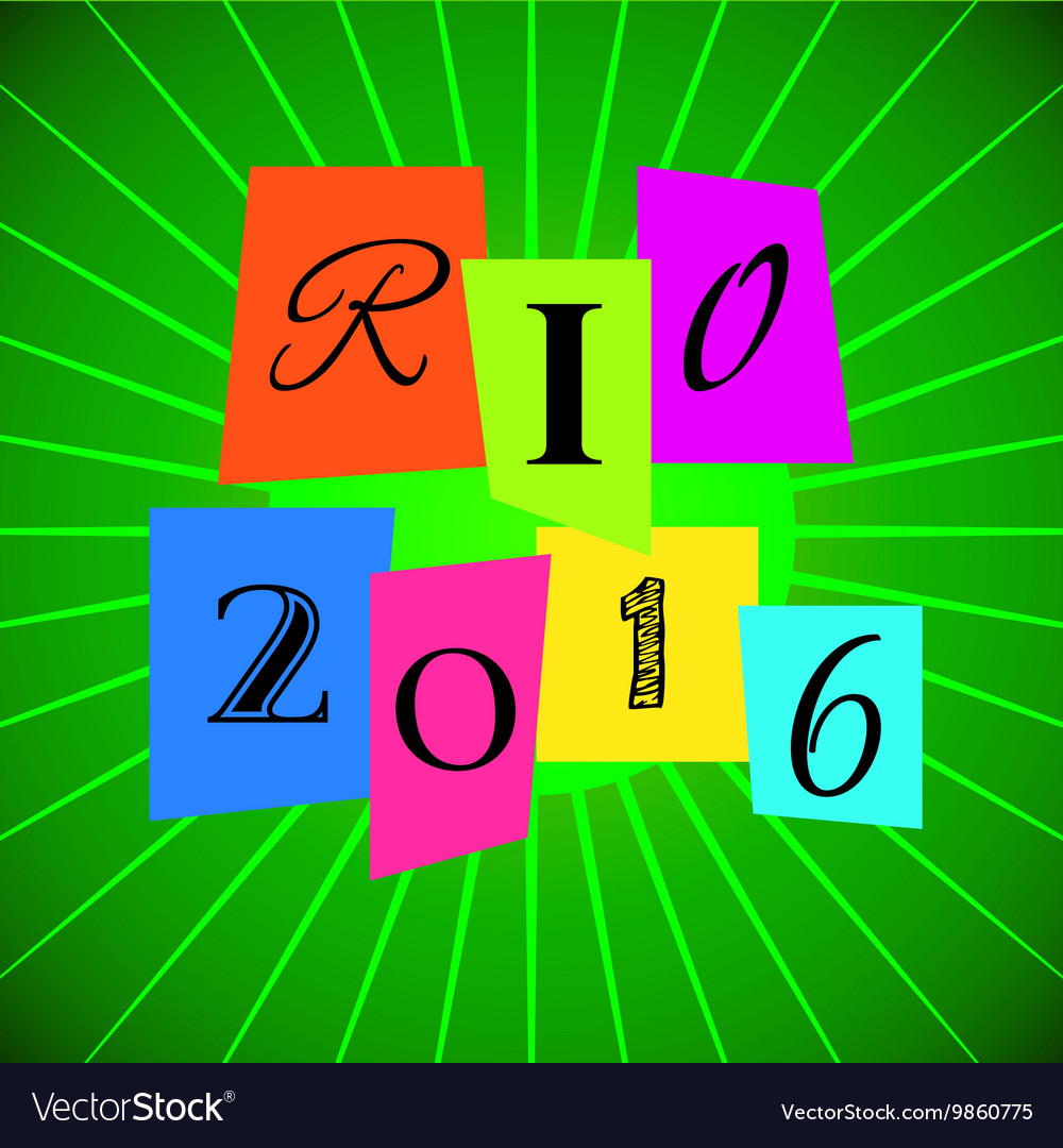 Rio 2016 Games over Green
