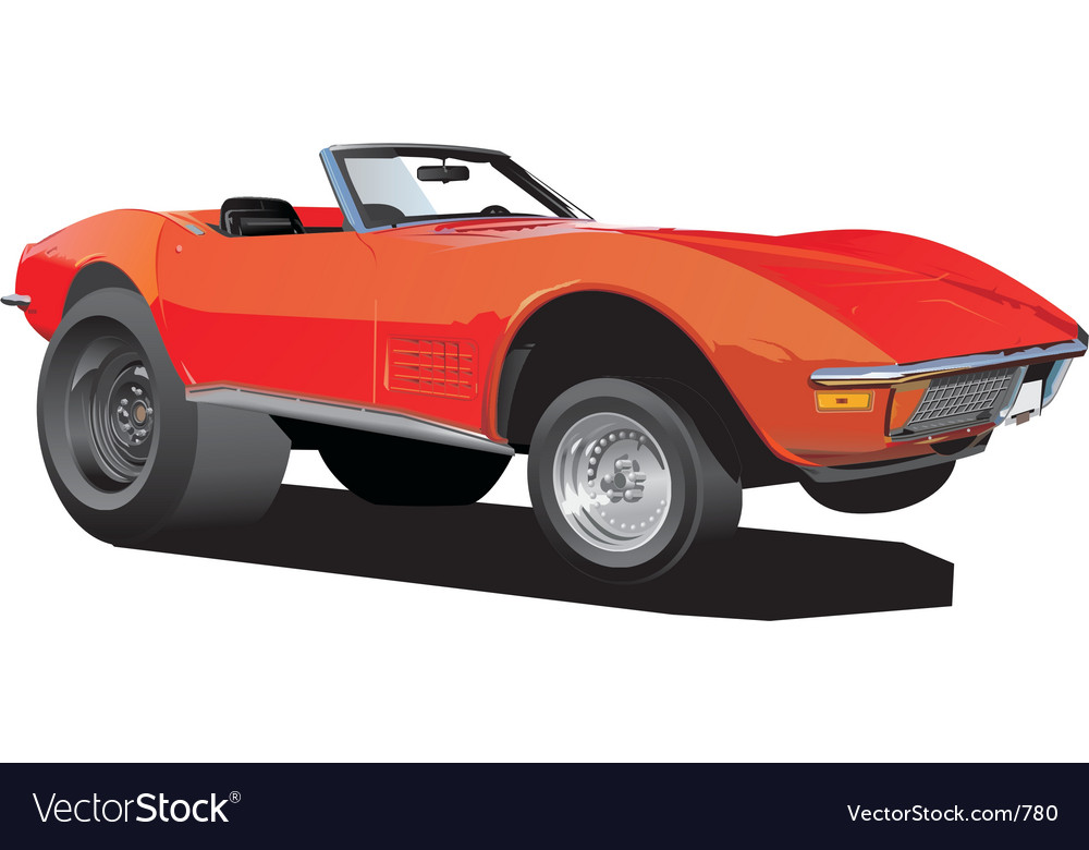 Cartoon vette vector image