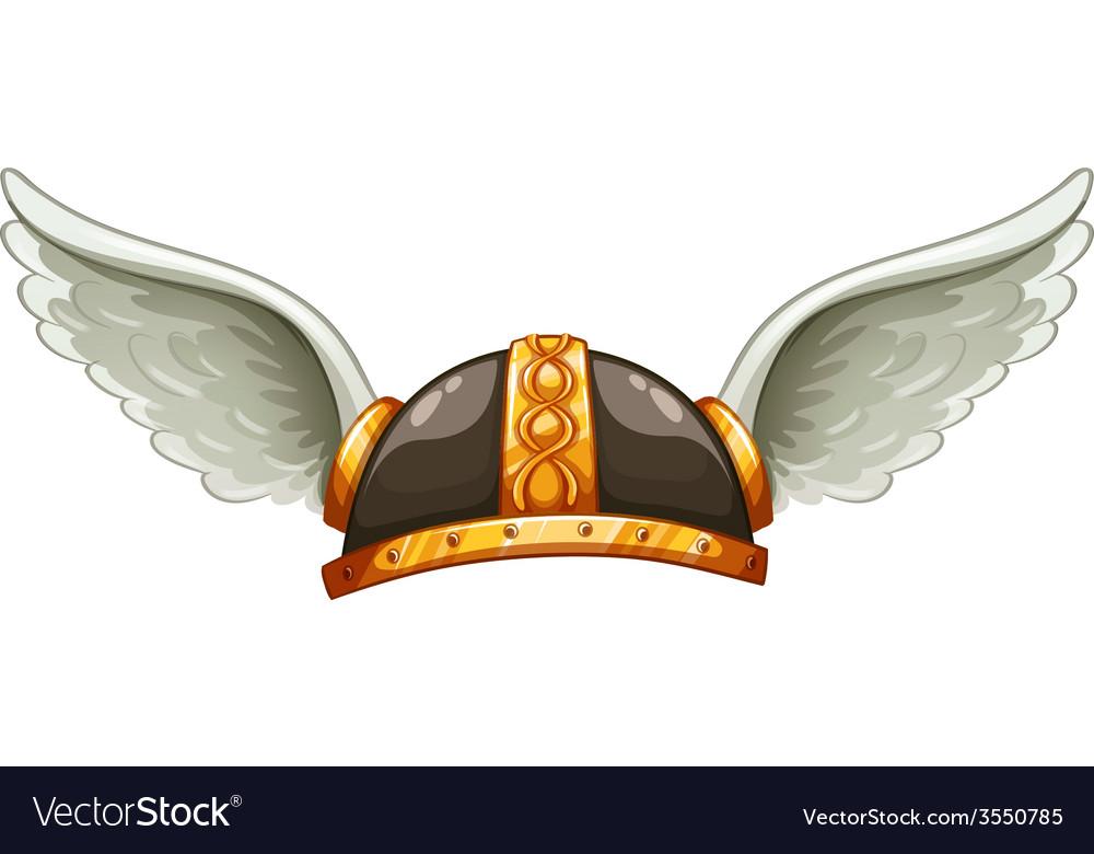 A vikings headgear