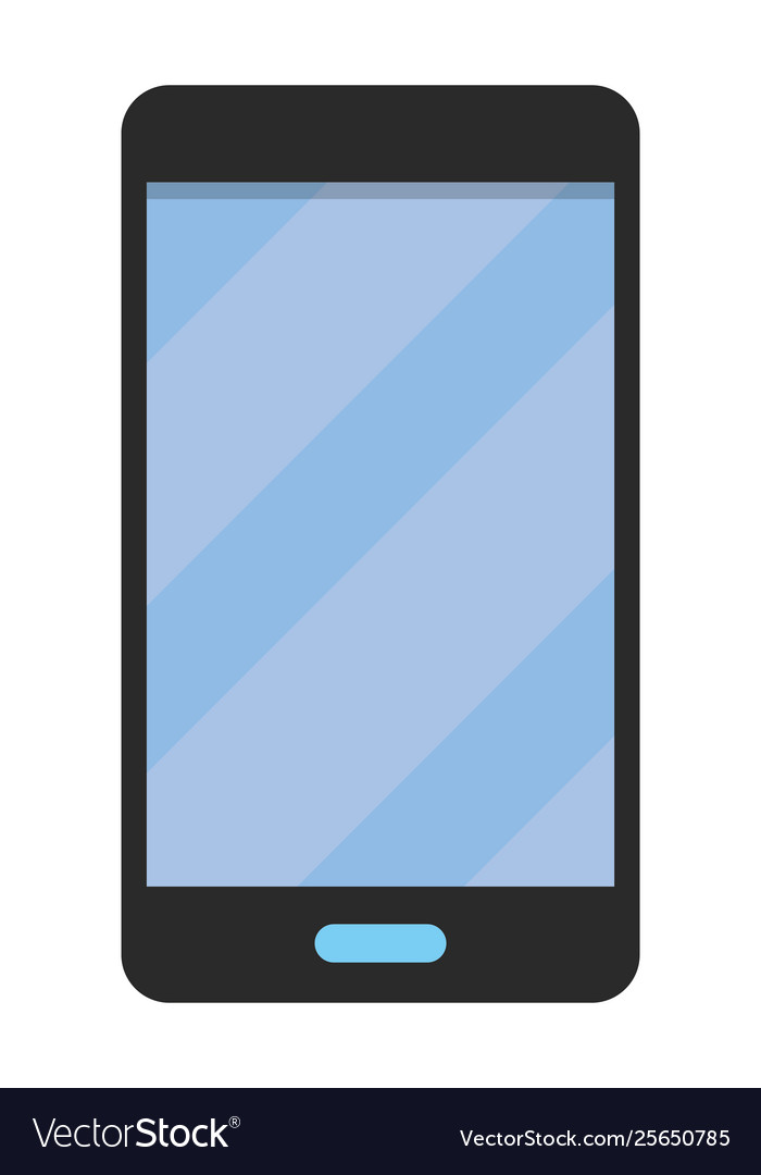 Cellphone Icon Cartoon Royalty Free Vector Image