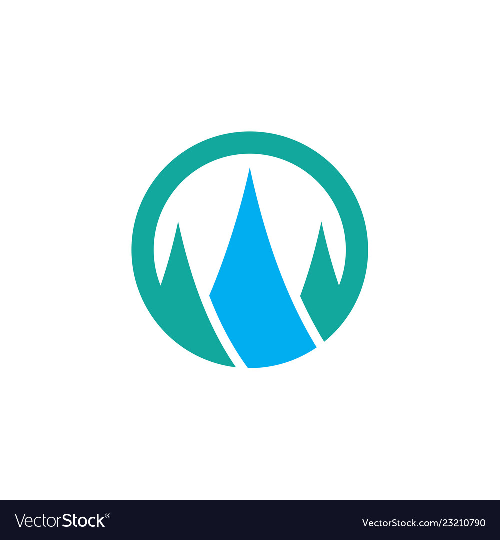 Circle mountain logo