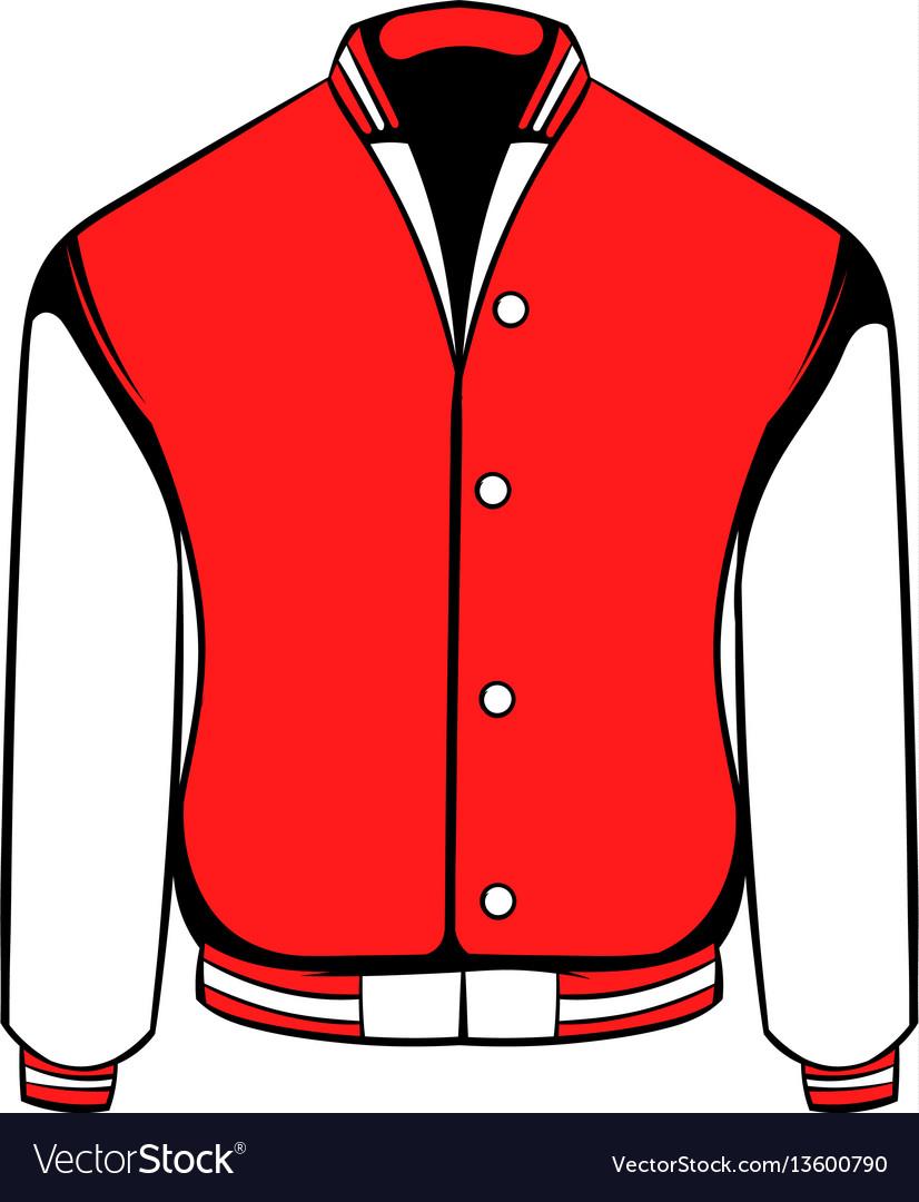 Sport jacket icon icon cartoon